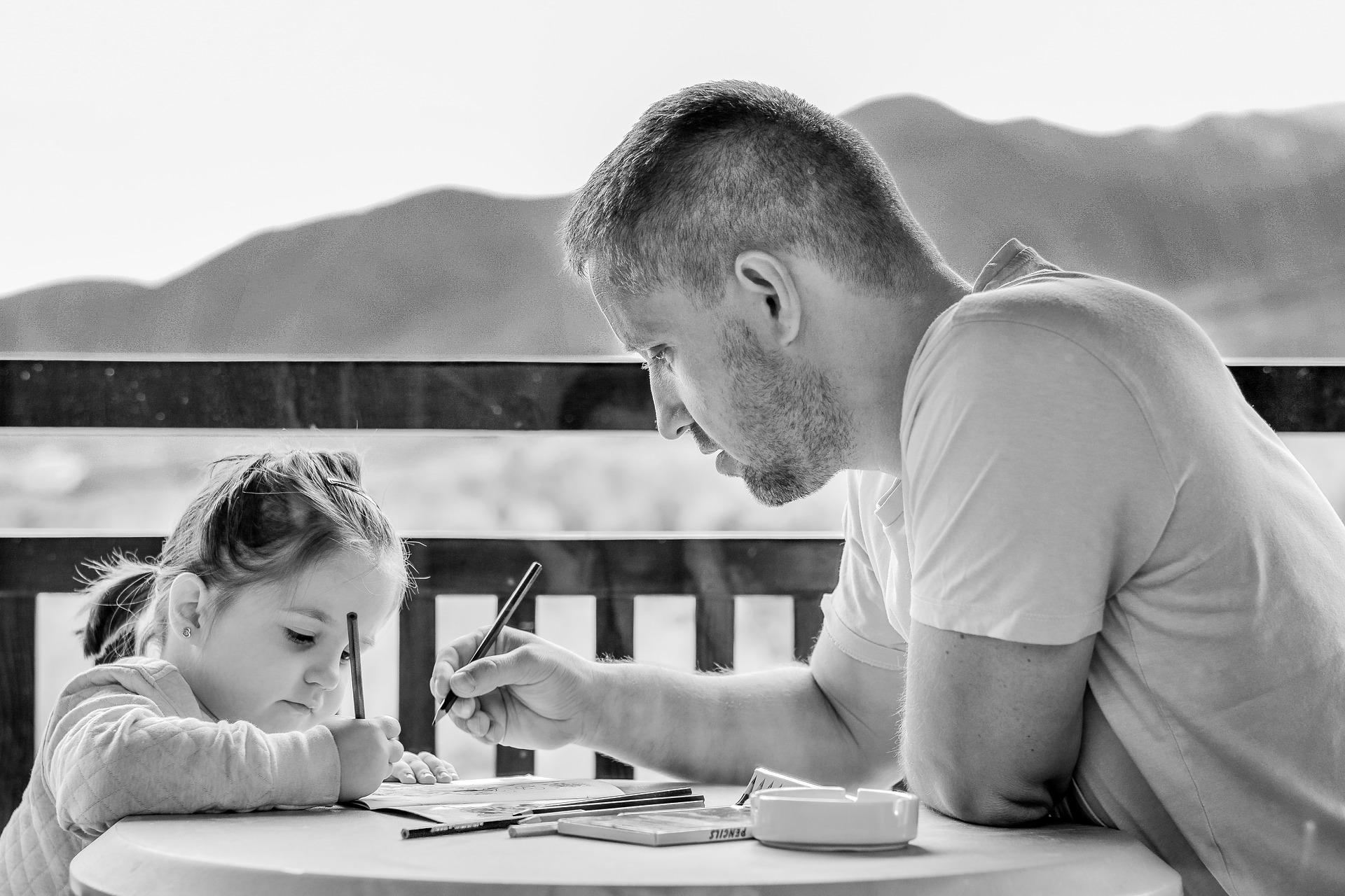 Perfekter Vater